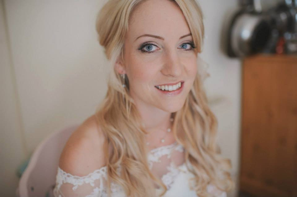 Make Up For Brides On Their Wedding Day In The Midlands By Sue York